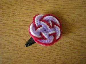 Tri-colour Mizuhiki Knot
