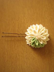 White Hair Pin Feature
